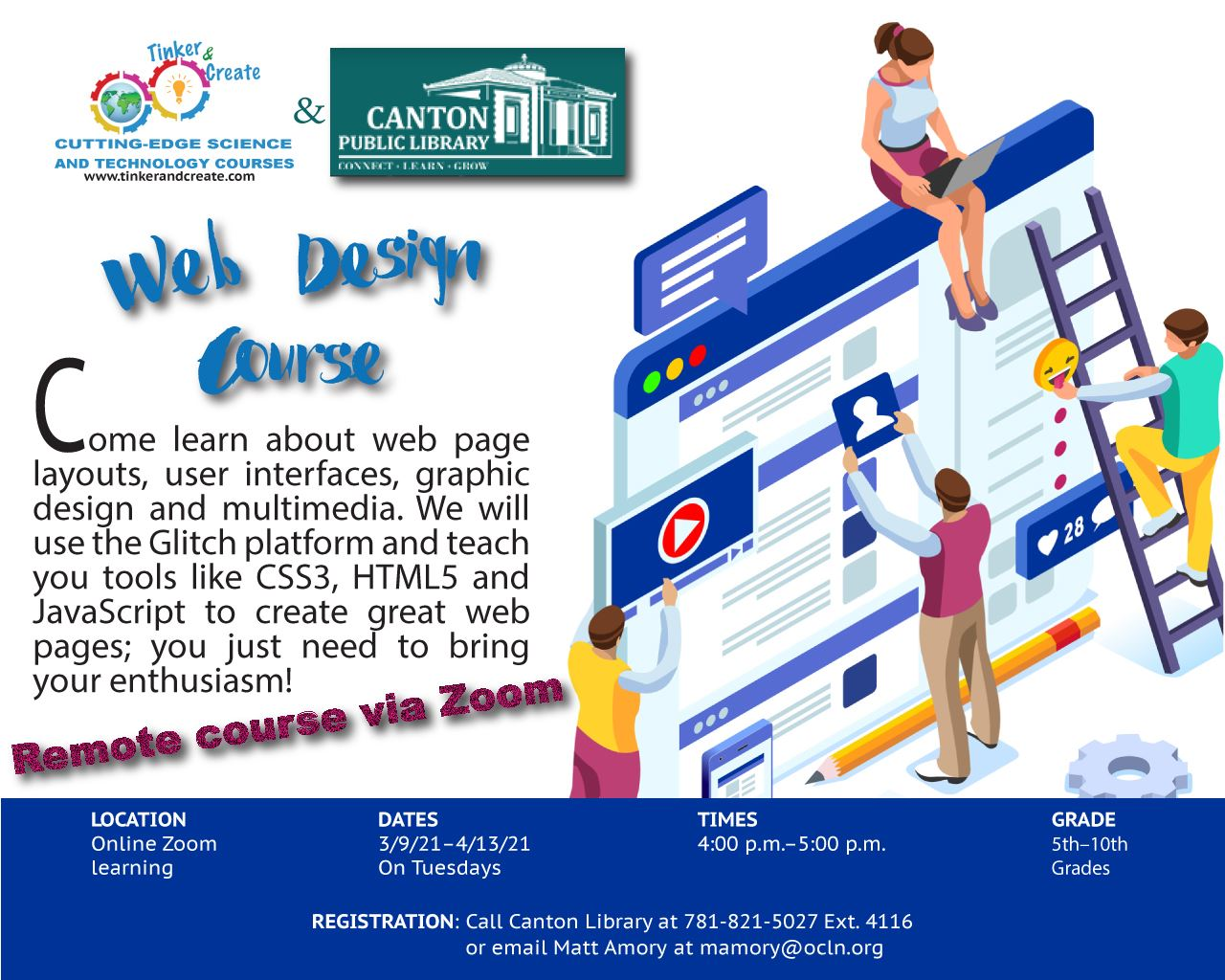Web Design for Kids!